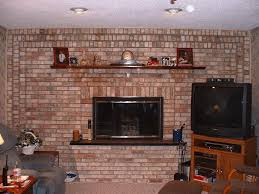 red brick fireplace makeover ideas home fireplaces firepits