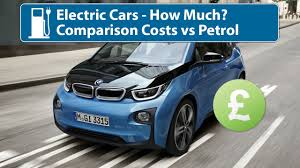 nissan leaf yearly electric cost electric cars how much to buy u0026 run vs petrol youtube