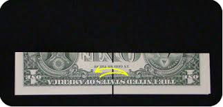 money ornament make origami