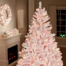 terrific black tree with white decorations contemporary
