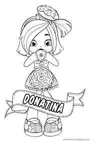 shopkins dolls coloring pages getcoloringpages com