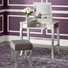 Mirror Vanity Furniture Makeup Tables And Vanities You U0027ll Love Wayfair