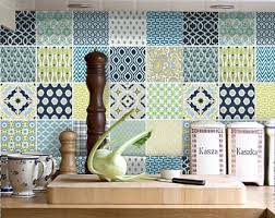 tile vinyl stickers for kitchen bath stairs or by snazzydecal
