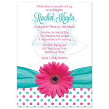 polka dot invitations bat mitzvah invitation polka dot pink turquoise