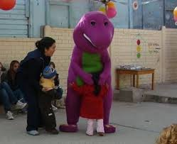 barney dinosaur arrested lilnekogirl