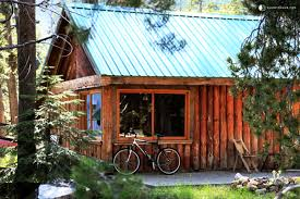 A Frame Homes For Sale by Log Cabin Next To Yosemite National Park California