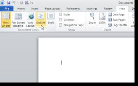 create a master document in word 2010 from multiple documents