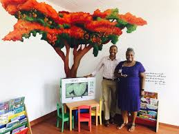 donation of smart tv to the children u0027s playroom at peebles