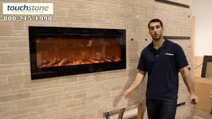 Recessed Electric Fireplace How To Install Touchstone Sideline 50 U0027 Recessed Electric Fireplace