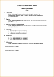 free sample of invoice and minutes sample meeting notes template