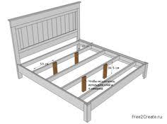 King Size Platform Bed Building Plans by King Size Bed Frame Diy Diy Furniture Pinterest King Size