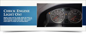places that do free check engine light engine light on