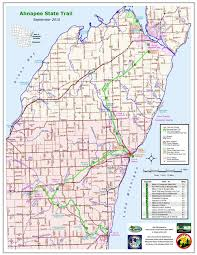 Wisconsin State Map by Cycling Maps Fish Creek Door County Bike And Ski Rentals Nor