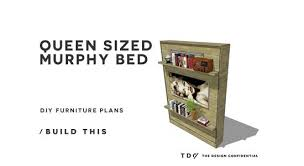 Murphy Bed Plans Free Free Diy Furniture Plans How To Build A Queen Sized Murphy Bed