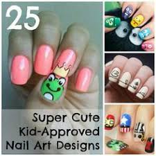 25 super cute kid approved nail art designs kid nails and short