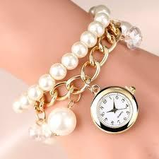 bracelet fashion watches images 2017 new style fashion watches women dress luxury pearl bracelet jpg