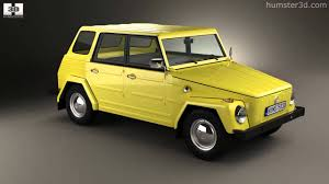 volkswagen thing yellow volkswagen type 181 1973 by 3d model store humster3d com youtube