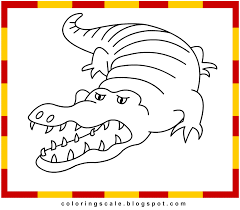 coloring pages printable for kids alligator coloring pages for kids