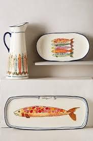 ceramic fish platter ceramic fish plates foter