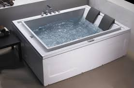 Jacuzzi Bathtubs For Two Whirlpool Tub Ariel 59in White Acrylic Whirlpool Tub With