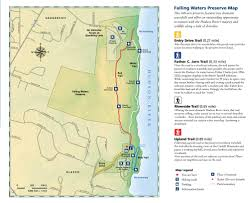 Great Loop Map Falling Waters Preserve Hike The Hudson Valley
