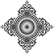 ornamental pattern stock vector wad 12002618