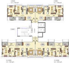 655 sq ft 2 bhk 2t apartment for sale in runwal realty elina