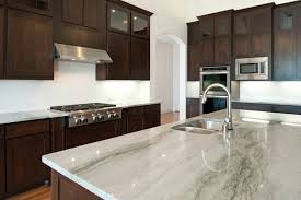 Kitchens With White Granite Countertops - kitchen grey granite countertops with brown cabinets white kitchen