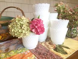 Pink Milk Glass Vase Vases Milk Glass Vases Milk Glass Bowl Milk Glass Planter
