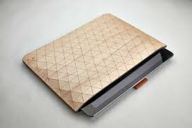 geometric wooden sleeves by grovemade