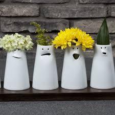 Vase Face 12 Faces Vase Set Spin Ceramics