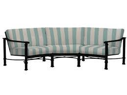 Patio Furniture San Antonio Brown Jordan Outdoor Patio Curved Sofa 4340 6460 Stowers