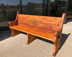 church pew furniture etsy