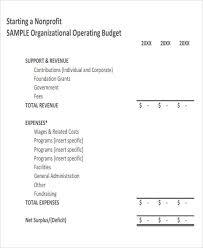 Non Profit Budget Template Excel Non Profit Budget Template Fundraiser Event Budget Template