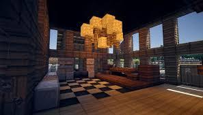 minecraft home interior modern house interior design minecraft clever minecraft home