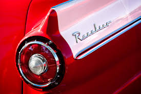 custom car tail lights 1957 ford custom 300 series ranchero taillight emblem photograph by