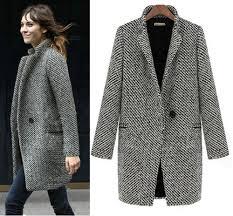 Womens Winter Coats Plus Size 2013 Design New Spring Winter Trench Coat Women Grey Medium Long