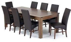 contemporary dining table and chairs modern dining room tables wonderful contemporary rectangle white