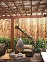 Bamboo Patio Cover Gallery For U003e Bamboo Covered Pergola Patio Designs Pinterest