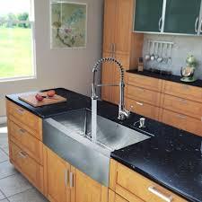 33 inch farmhouse kitchen sink vigo 33 inch farmhouse apron single bowl 16 gauge stainless steel