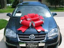 new car gift bow car with bow car online was yesterday granted an with