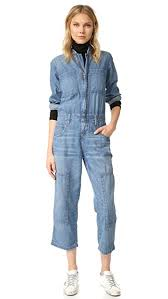 janitor jumpsuit current elliott the janitor coverall jumpsuit shopbop