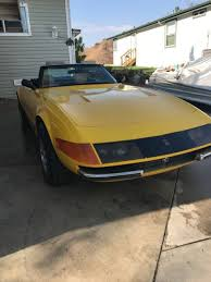 rowley corvette 1978 daytona 365 gtb built by rowley corvette for sale