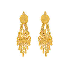 gold earings buy orra chandbali gold earring for online best earrings online