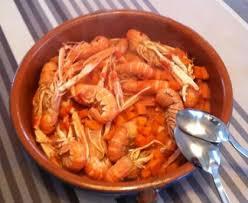 comment cuisiner les langoustines langoustines flambées recette de langoustines flambées marmiton