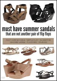 Most Comfortable Leather Sandals Must Have Sandals For Mom That Are Not Flip Flops