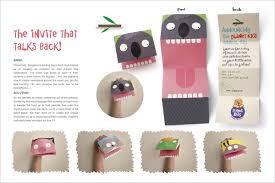 planet puppet invitations modular 4