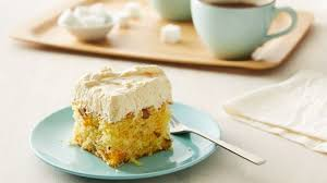 luscious mandarin orange cake recipe bettycrocker com