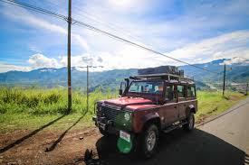 land rover defender off road land rover defender 110 nomad america 4x4 car rental costa rica