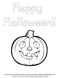 printable halloween pictures for preschoolers exciting preschool halloween coloring pages happy pumpkin coloring